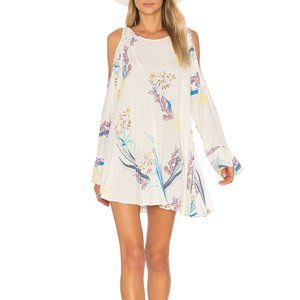 FREE PEOPLE Clear Skies Cold Shoulder Tunic - XS